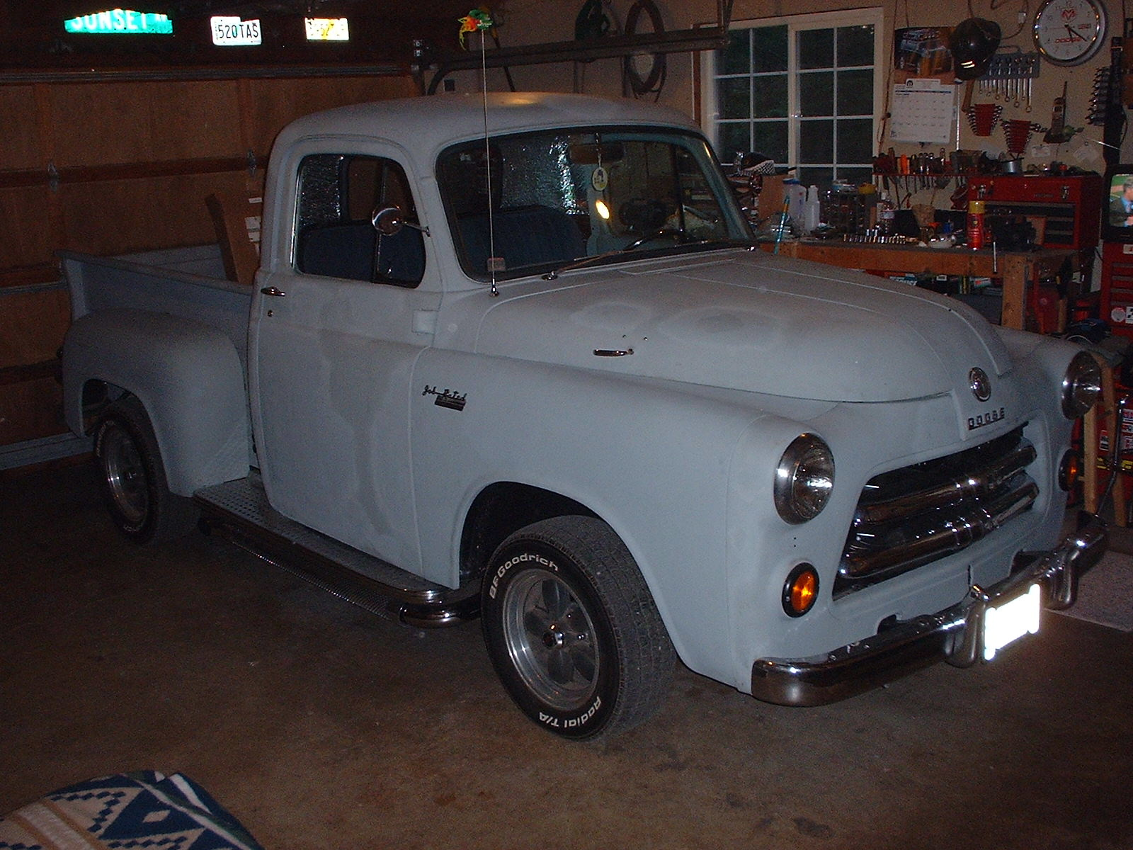 The 1954 Dodge C1-B6 Truck Restoration Page