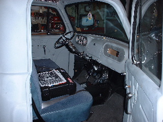 Interior View of Dash